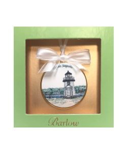Mystic Seaport Lighthouse Ornament