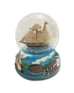 Music Box Snow Globe
