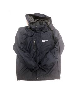 Adult Mystic Seaport Fleece Lined Rain Jacket