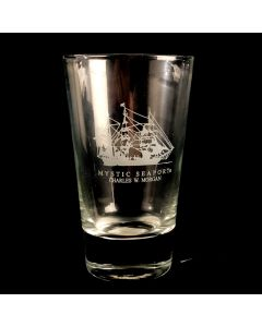 CHARLES W. MORGAN Cooler Glass