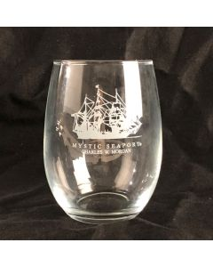 CHARLES W. MORGAN Stemless Wine Glass