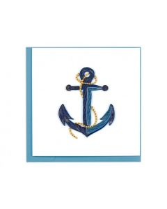 Anchor Quilling Card