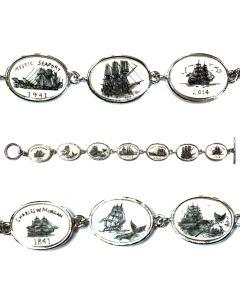 Charles W. Morgan Scrimshaw Bracelet