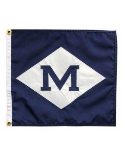 ''M'' Burgee Flag