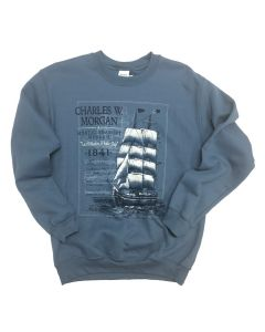Adult Charles W. Morgan Crew Neck Sweatshirt