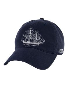Adult Navy CHARLES W. MORGAN Cap