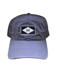 Navy ''M'' Burgee Cap