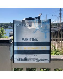 Reusable Nautical Shopping Bag