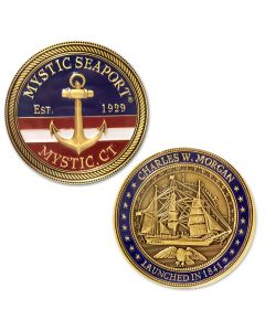 Mystic Seaport Challenge Coin