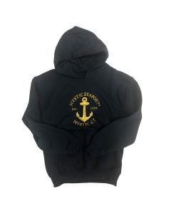 Youth Navy Anchor Hoodie
