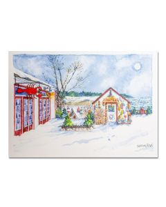 Lobster Shack Holiday Cards