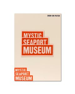 Mystic Seaport Museum Logo Patch