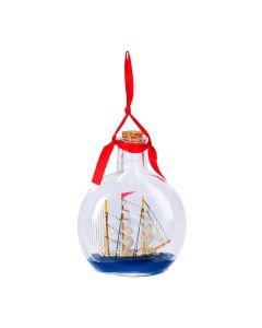 Ship In Bottle Ornament
