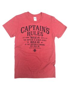 Adult Captains Rules Tee