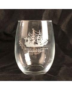 CHARLES W. MORGAN Stemless Wine Glass