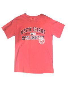 Adult Short Sleeve Mystic Seaport Tee