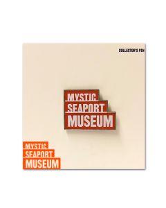 Mystic Seaport Museum Logo Pin